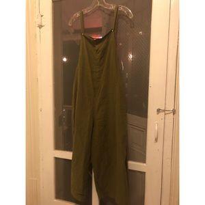 Olive green Mango jumper